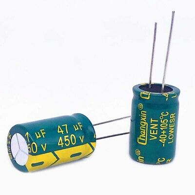 5PCS 63V 1000uF Radial Electrolytic Capacitors For PCB//LCD Mount 105°C 16x25mm