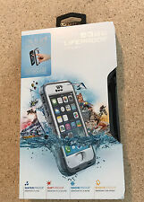 New Gray/White LifeProof Nuud Waterproof case for iPhone 5/5s