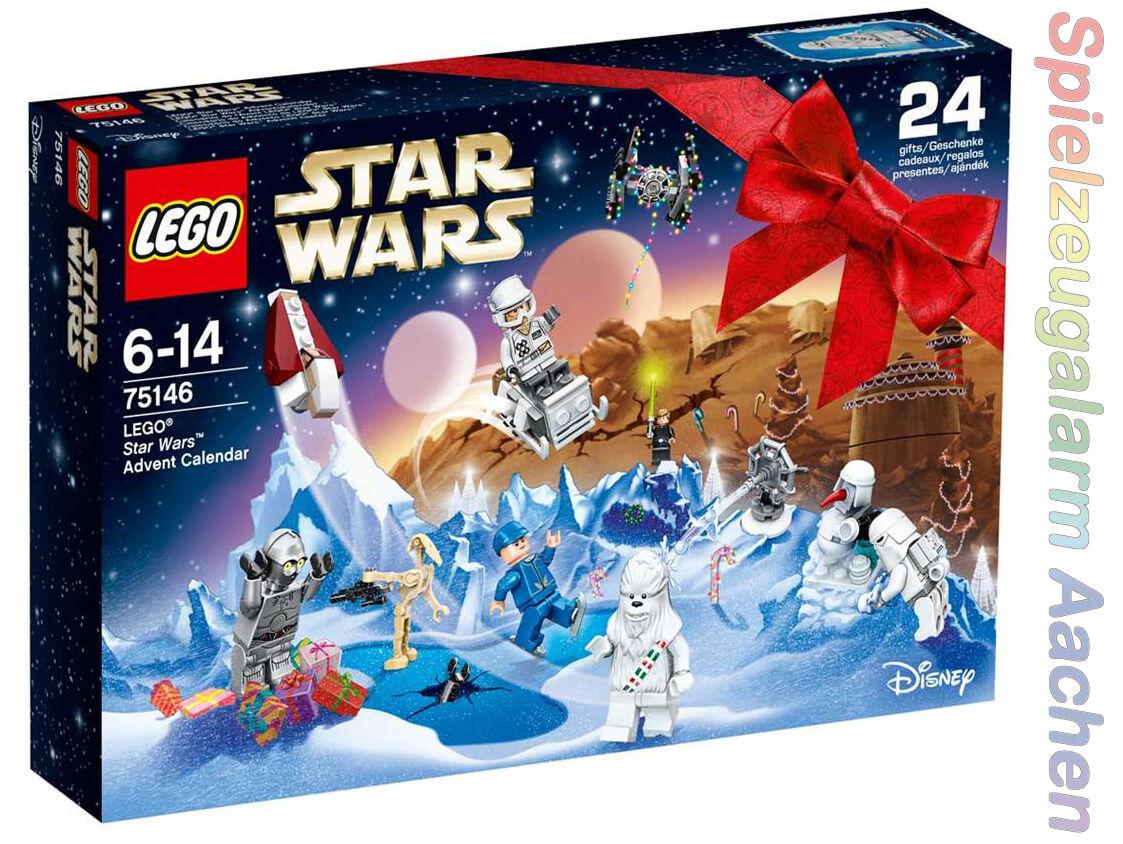 LEGO 75146 Star Wars Adventskalender Advent Calendar Weihnachten AAT T-16 N10 16