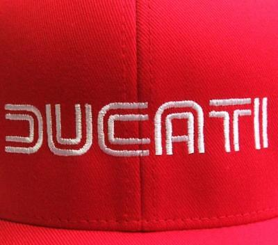 Ducati 1980s Logo Hat Black with GP Motorcycles Logo on Back L//XL