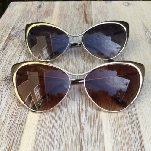 Large Cat Eye BOHO Nastasya Metal Nocturnelle Celebrity Big Sunglasses Glasses L