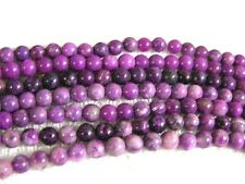 Sugilite bead strand 6mm round natural one15 inch strand 60 plus beads