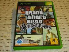 GRAND Theft Auto (GTA) San Andreas per Xbox * OVP *