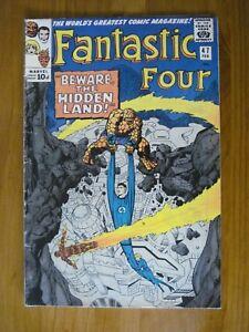 FANTASTIC-FOUR-47-1966-SILVER-AGE-MARVEL-COMIC