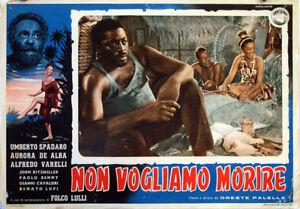 NON-VOGLIAMO-MORIRE-UMBERTO-SPADARO-1954-OPTIONAL-SET-FOT