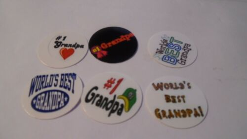 Pre Cut One Inch Bottle Cap Images WORLD/'S BEST GRANDPA Free Shipping