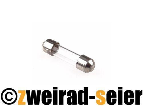 Sicherung Schmelzeinsatz Glassicherung 4 Ampere Simson Schwalbe Sperber Habicht