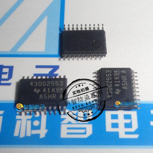 10X MSP 430 G 2553 IPW 28 R MIXED SIGNAL MICROCONTROLLER TSSOP28