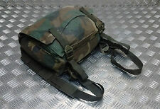 Genuine  Military Issued Cotton Canvas / Mini Backpack Woodland  DPM CAMO Type 2