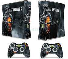 Cool Man Gift X box 360 Skins Vinyl Sticker Decals Cover for X box Slim Console
