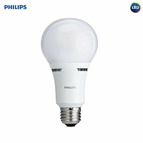 Philips 40W//60W//100W Equivalent Soft White A21 Medium 3-Way LED Light Bulb