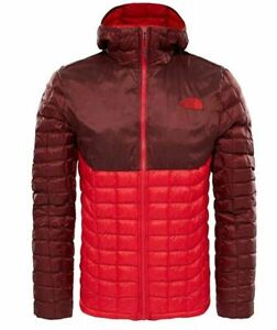 Details about The North Face Men's Thermoball Hoodie, T9382AMLD, TNF RedSequoia Red , Size XL