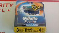Gillette FUSION PROGLIDE 4 Cartridges 5 Blade Trimmer Razor Blades NEW Personal Care