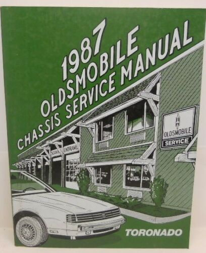 Chassis Service Manual Oldsmoblie 1987 Toronado