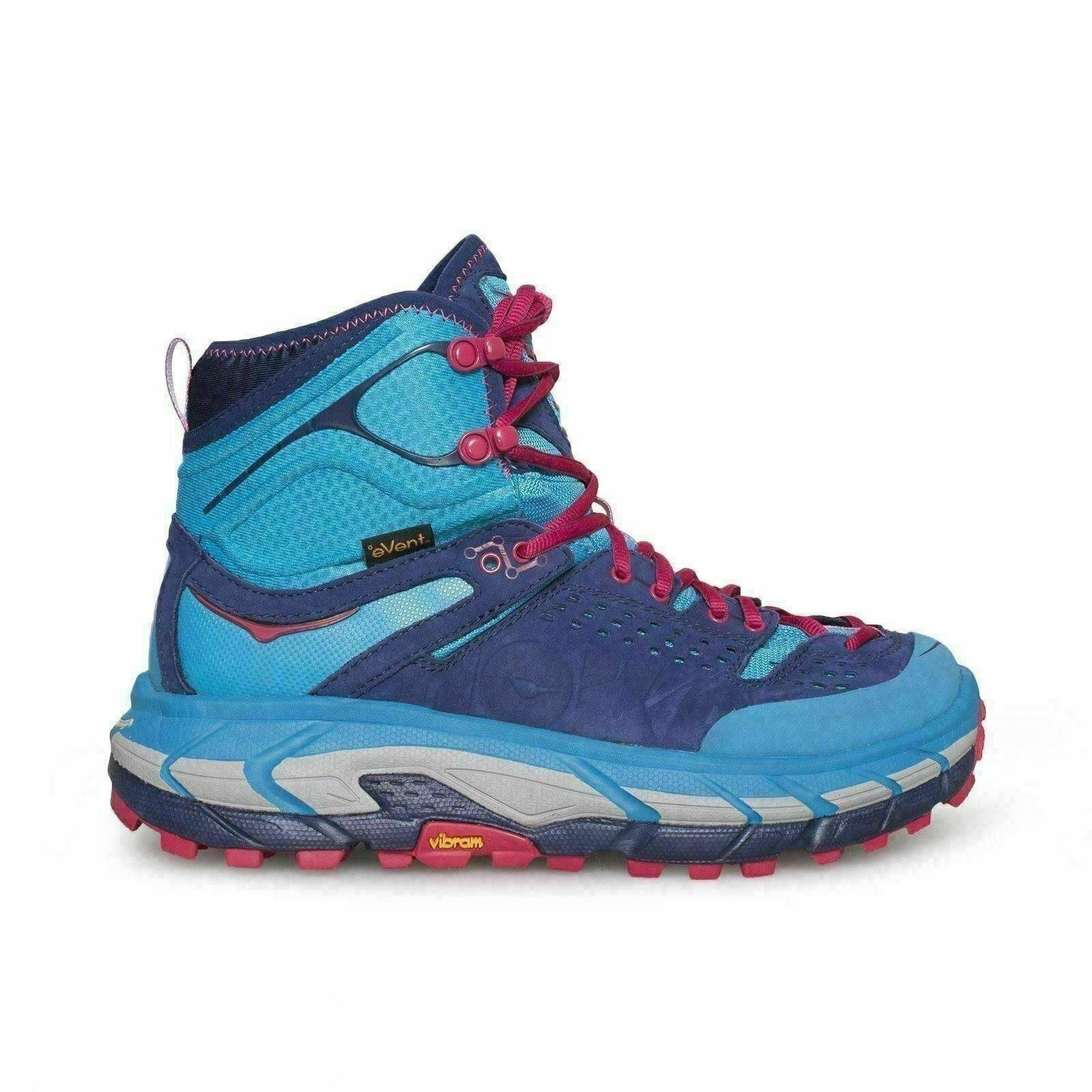 Hoka One One Tor cumbre Ultra Hi Joya Azul Azul Medieval botas de EE. UU. nuevo