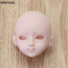 """Soft Plastic Practice Makeup DIY Doll Head For 11.5"""" Doll Head For 1/6 BJD Doll"""