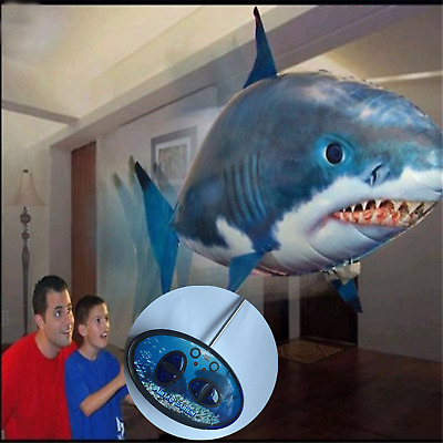 AirFish - Remote Control Air Swimming Fish  Shark Scary Balloon Fish Float Hallo