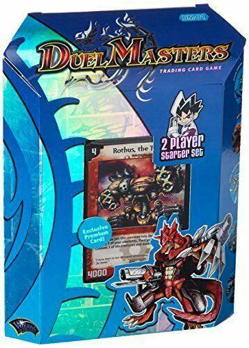 DUEL MASTERS DM-01 BASE SET Display Box 6 Two-Player Starter Sets Decks SEALED