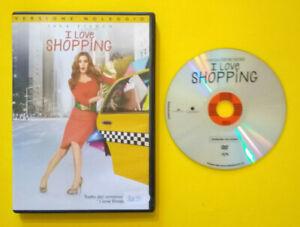DVD-Film-Ita-Commedia-I-LOVE-SHOPPING-isla-fisher-ex-nolo-no-vhs-lp-cd-mc-D4