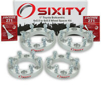 4pc 1 Wheel Spacers Toyota Tacoma Truck Adapters Lugs Studs 6x5.5 Tr