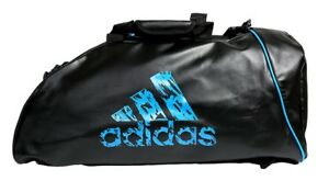 b16b48d1aed5 Image is loading adidas-Sports-Bag-2-IN-1-Training-Duffle-