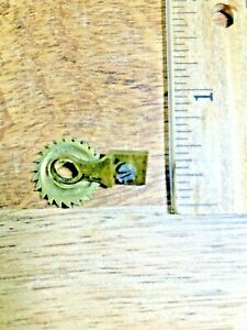 Japy Freres & Co Clock Click Wheel Cover Assembly (See Pics for Ref) (K5704)