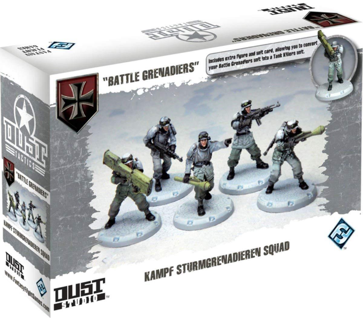 ofreciendo 100% Dust Tactics Tactics Tactics batalla Granaderos (totalmente Nuevo) miniaturas de vuelo de fantasía  venta al por mayor barato