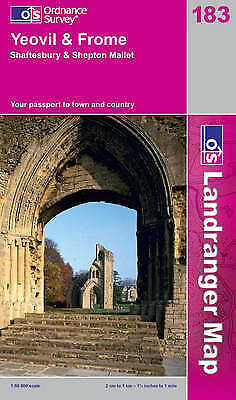 Yeovil and Frome (OS Landranger Map Series), Ordnance Survey, Used; Good Book
