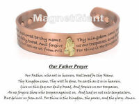 Hot Item Praying Hands Magnetic Solid Copper Bangle Bracelet Cuff Jewelry