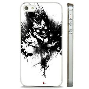 premium selection a1479 a5bab Details about Death Note Anime Manga Art CLEAR PHONE CASE COVER fits iPHONE  5 6 7 8 X