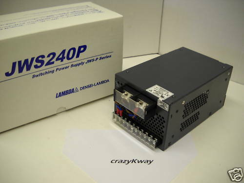 Lambda JWS240P-48 Power Supply 100-240VAC 3.2-1.2A Input 48VDC 5A Output