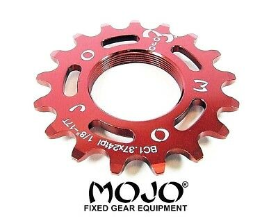 CHROME Cro-Mo TRACK 17 TOOTH 1//8 INCH CNC MOJO 17T FIXED GEAR COG