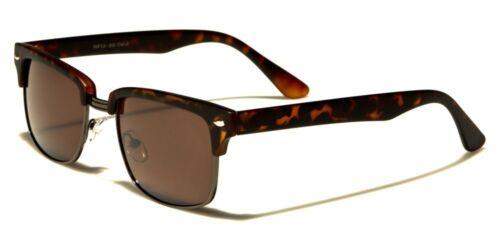 Classic Retro Vintage Metal Half Frame Men and Women Fashion Sunglasses