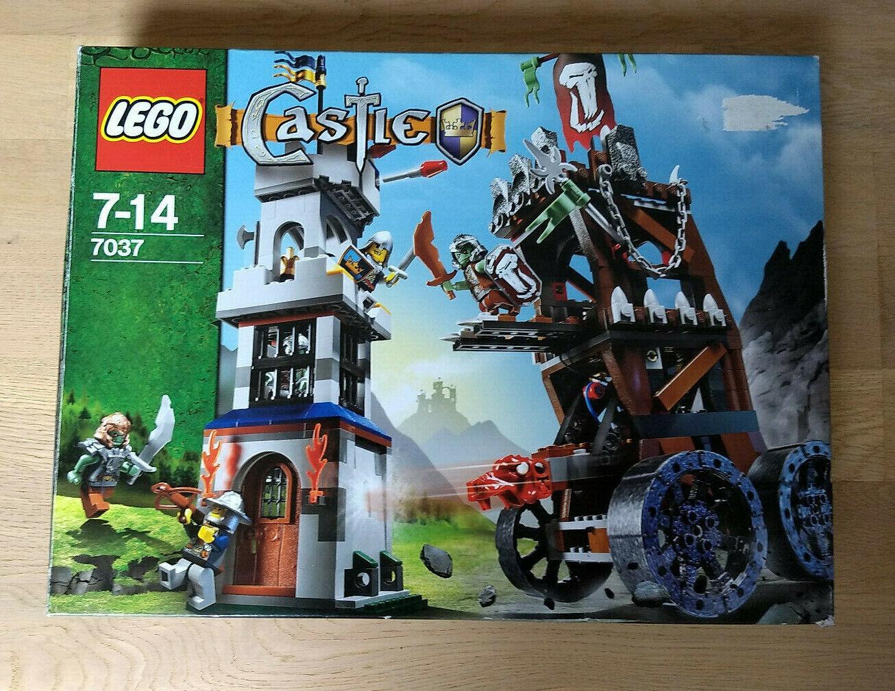 Lego Castle   Ritter, Set 7037, das Trollturmangriff mit BA und OVP aus 2008