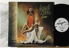 ANGEL WITCH : ANGEL WITCH LIVE    -    1990  LP  FRANCE