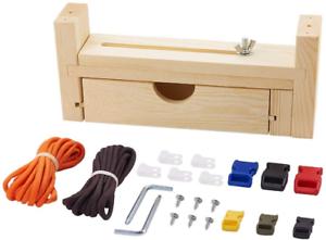 Paracord Jig Bracelet Kit, Adjustable Length Paracord Bracelet Maker Kit