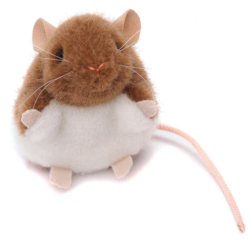 Braun & Weiß Maus Sammel- Weiches Spielzeug von Kosen   Kösen - 8cm - 7190