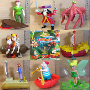 McDonalds-Happy-Meal-Toy-2002-Peter-Pan-Return-Neverland-Character-Toys-Various