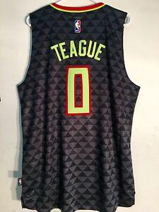 0d079790b04 Adidas Swingman 2015-16 NBA Jersey Atlanta Hawks Jeff Teague Black ...