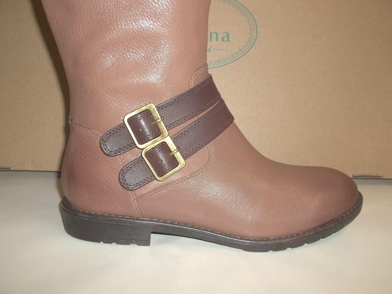 Montana Talla 8.5 M Gavyn Gavyn Gavyn Cuero Tostado la rodilla botas altas nuevas Mujer Zapatos cb7af0