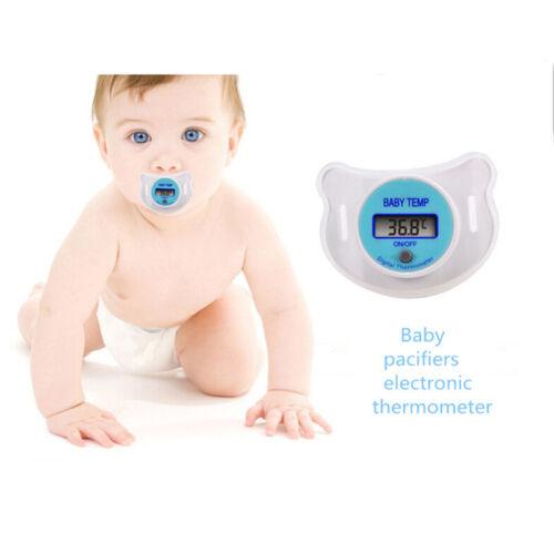Sicherheit praktische mund nippel digital thermometer temperatur schnuller WS6