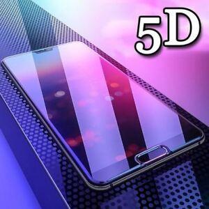 Pour-OnePlus-6-5-T-Full-Cover-5D-Arrondi-Edge-Protection-D-039-ecran-Verre-Trempe-Housse