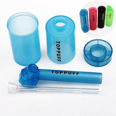 1pc gauze Top travel puff toppuff water bong shisha pipe plastic glass stock