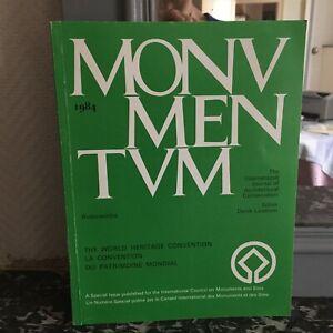 Rivista Monumentum I World Convention Special Issue Icomos 1984