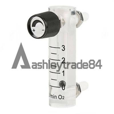 0-3LPM  Oxygen flow meter with control valve for Oxygen conectrator LZQ-2