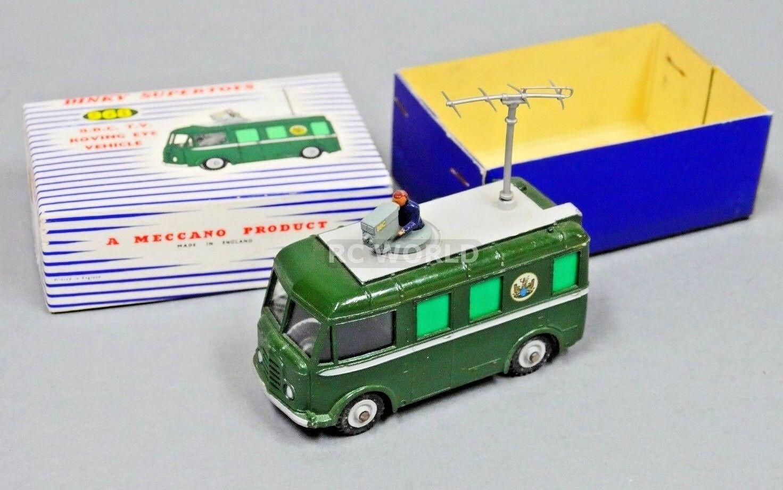 Vintage Dinky Super Giocattoli 968 B. B. C. T. Molto Errante Eye Veicolo  Oa3