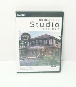 Punch Software Home Design Studio For Mac Os X 10 9 Up Dvd Rom V19 New 705381432197 Ebay