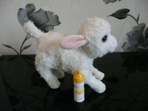 ****FURREAL FRIENDS NEWBORNS WHITE LAMB SHEEP INTERACTIVE PET TOY****