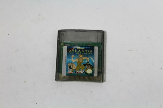 Disney's Atlantis: The Lost Empire - Game Boy Color - LOOSE - GAME ONLY - USED
