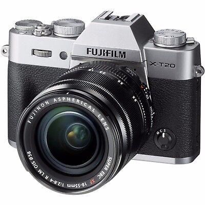Fujifilm X-T20 Lens Kit XF18-55mm F2.8-4 Silver Camera Japan Domestic New